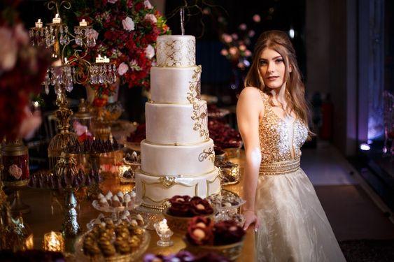 pasteles de quinceañera 2018