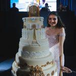 pasteles elegantes para 15 años