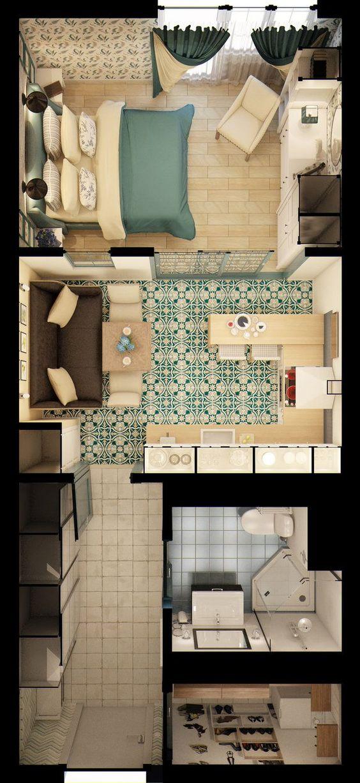 planos de casas pequeñas y bonitas