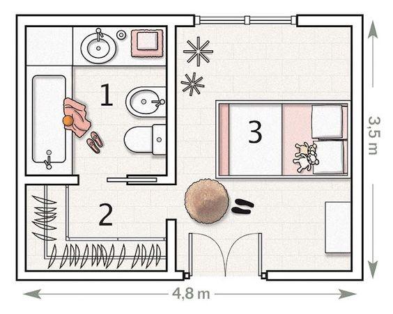 planos para casas de un piso