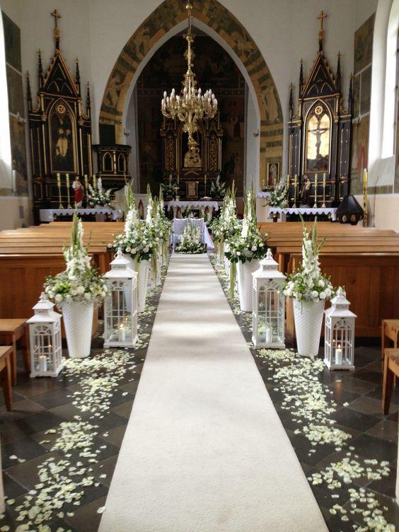 Precio para decorar una iglesia