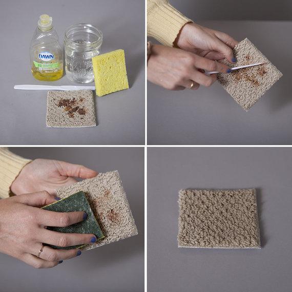 remedios caseros para limpiar alfombras
