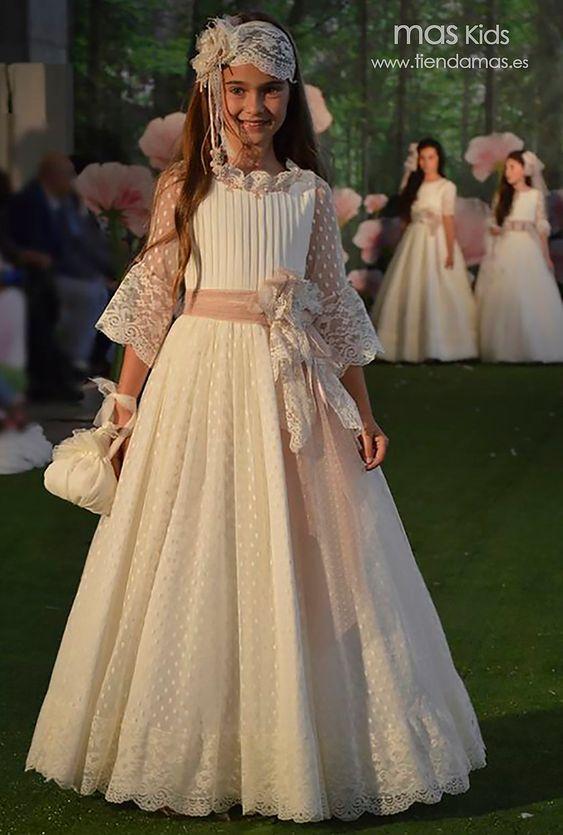 vestidos de encaje para niñas de 12 años