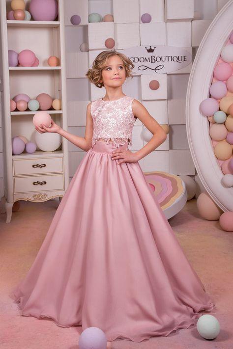 vestidos de fiesta para niñas de 12 años elegantes