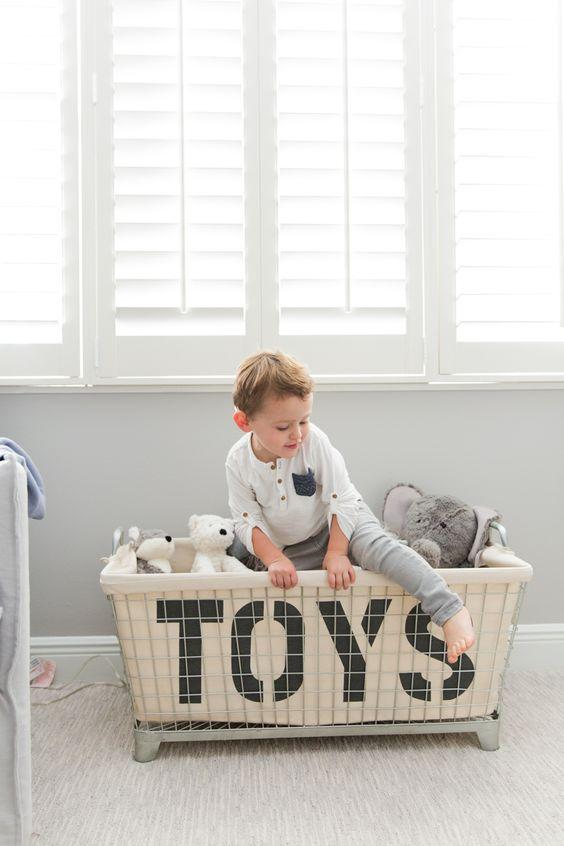 Cestas económicas para organizar juguetes