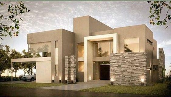 Colores cálidos para casas modernas