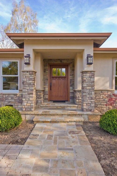 Fachadas con piedra laja ideas geniales con laja para tu hogar - Piedra para fachadas ...