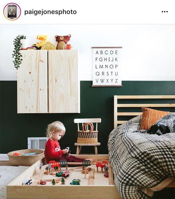 Ideas para guardar juguetes en los dormitorio