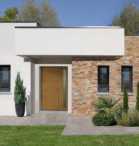 Fachadas con piedra laja ideas geniales con laja para tu - Decoracion de fachadas ...