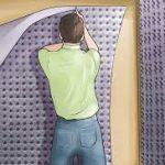 paneles de yeso para aislar la pared