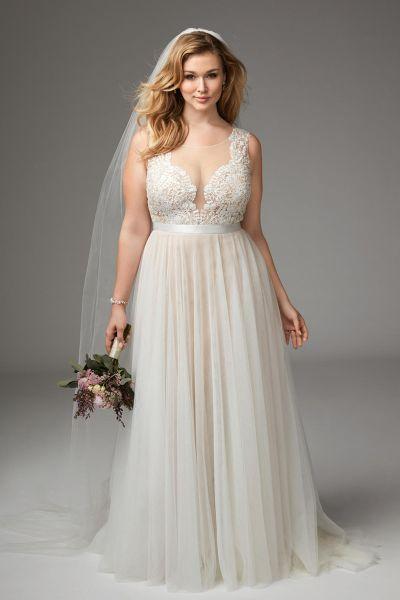 Vestidos de novia para civil para gorditas