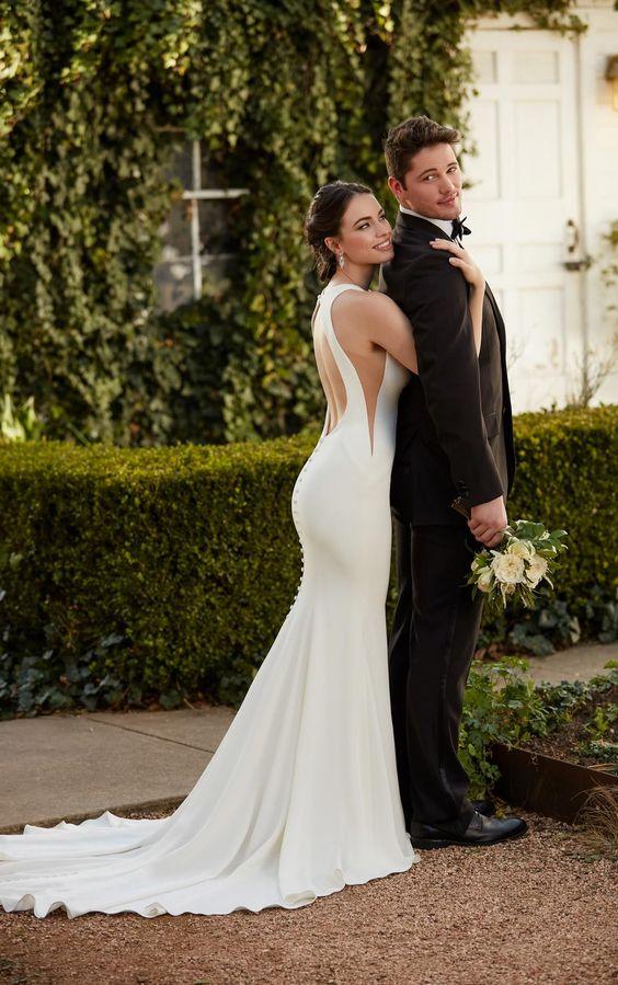 Vestidos de novia para boda de jardin