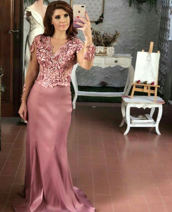 Vestidos de fiesta para madres de quinceaneras