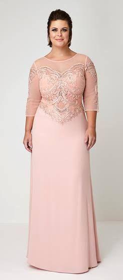 3865eddf4 Vestidos para mamas de quinceañeras si son tallas grandes ...