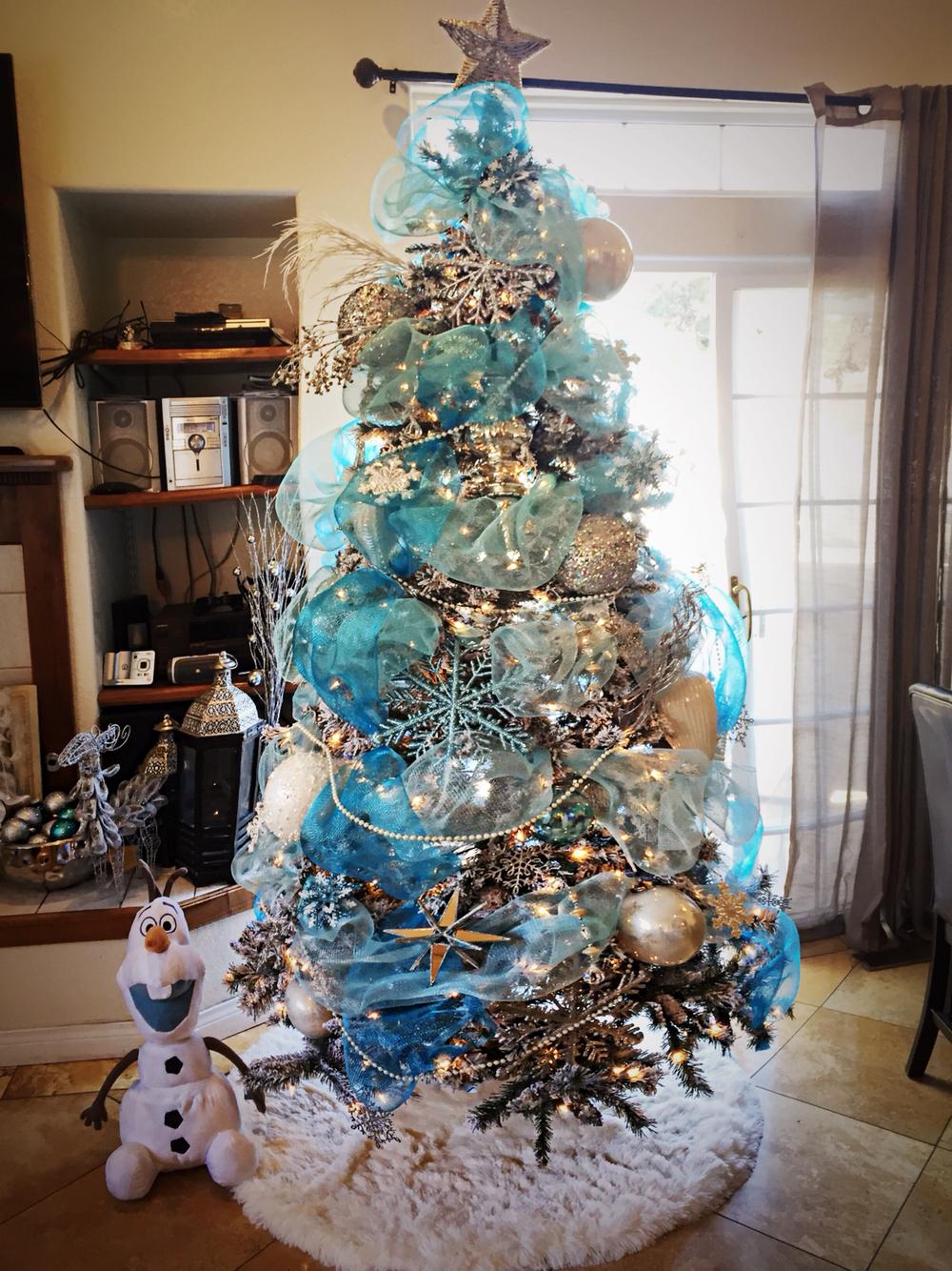 Como hacer un pino de navidad con malla