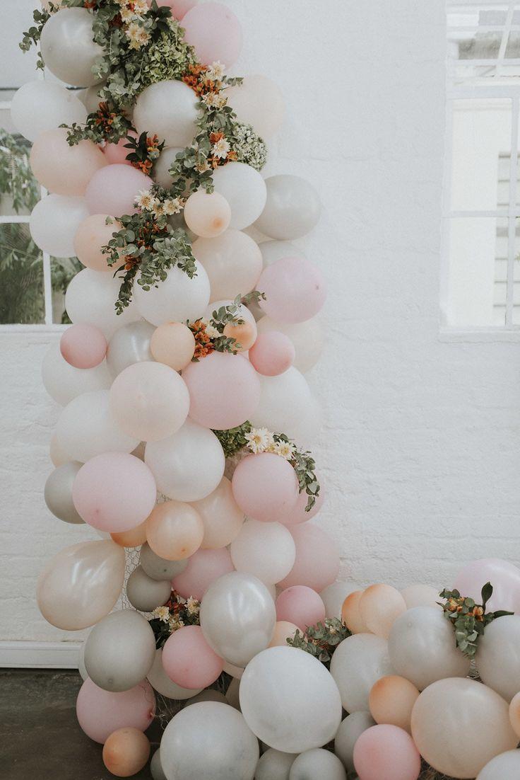 Bouquet de globos para bodas