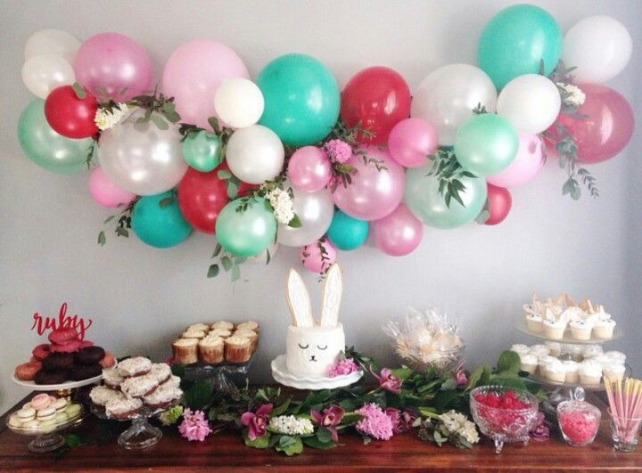 Bouquet de globos para decorar fiestas infantiles