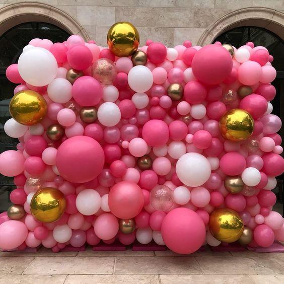Bouquet de globos para fondos de fotos