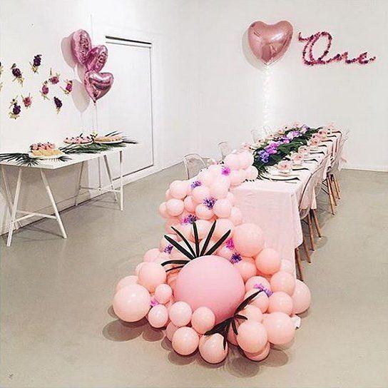 Bouquet de globos para salón de fiestas