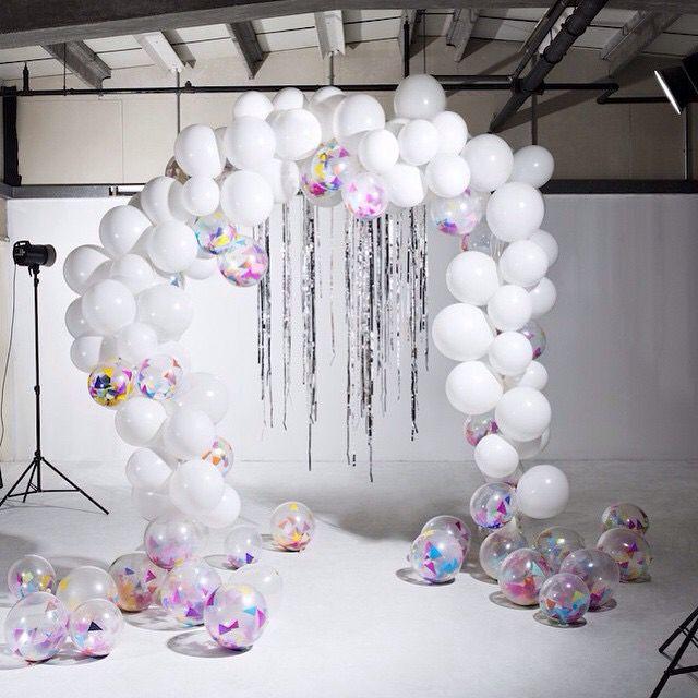 Bouquet de globos para sesiones de fotos