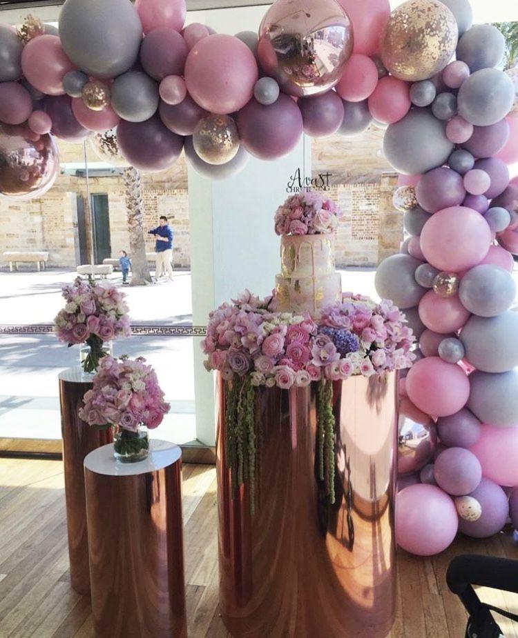 Bouquet de globos para xv años