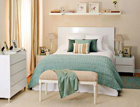 como decorar un dormitorio matrimonial pequeño