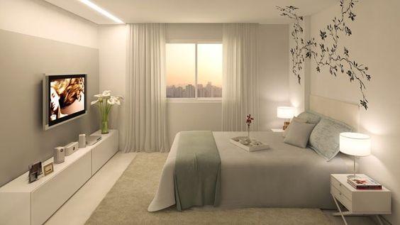 Como decorar un dormitorio matrimonial peque o curso de for Como decorar un dormitorio matrimonial pequeno