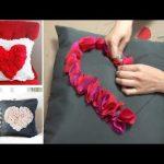 como hacer cojines de tela