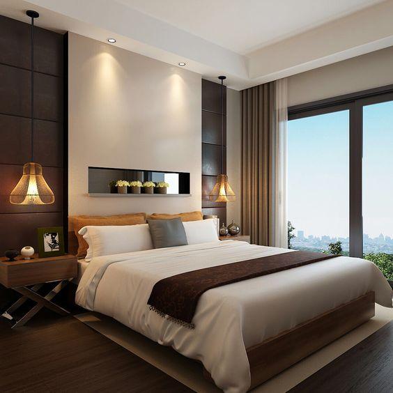 Decoraci n de dormitorios para matrimonios modernos for Decoracion de habitaciones principales