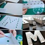 Imágenes de Como hacer letras led para decorar fiestas