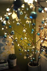 pinos de navidad azules originales