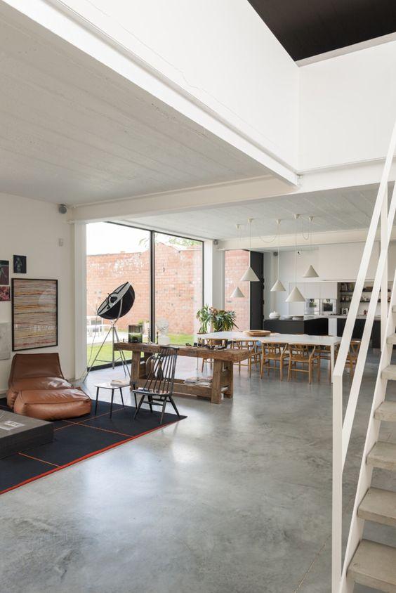 piso de concreto sala de estar Pisos De Cemento Pulido Acabados E Instalacin Del Piso