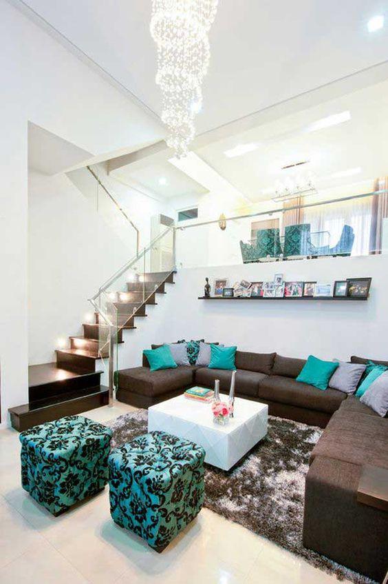 Colores de interiores de casas modernas