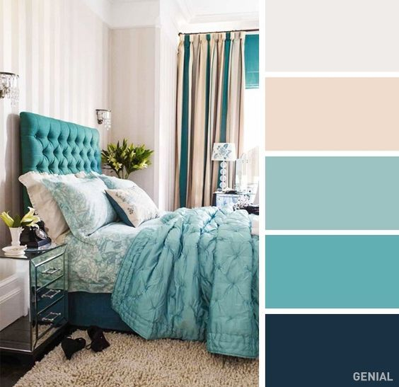 Colores interiores para habitaciones