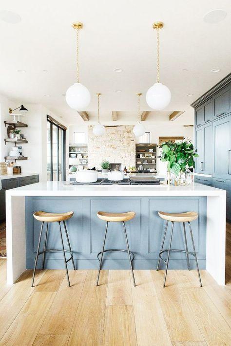 Colores para los gabinetes de la cocina