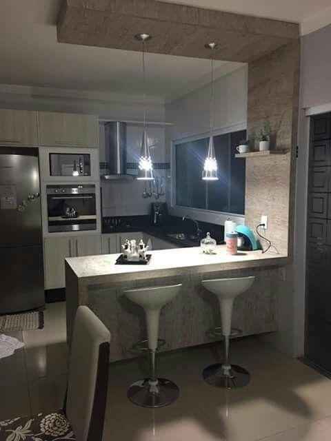 Colores para cocinas para encimeras pisos muebles paredes y azulejos - Colores cocinas pequenas ...