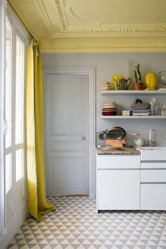 colores para pintar el techo de la cocina