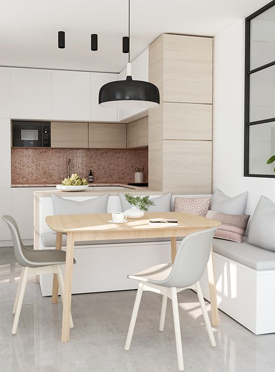 Colores para cocinas para encimeras pisos muebles for Colores para cocina comedor