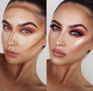 Como contornear el rostro
