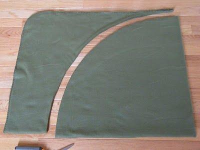 Como cortar tela para hacer pie de árbol