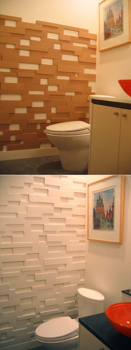 Como decorar habitación con reciclaje