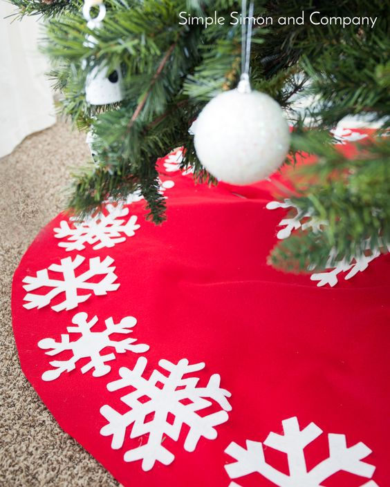 Como decorar un pie de árbol