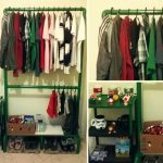 como hacer closet en pvc