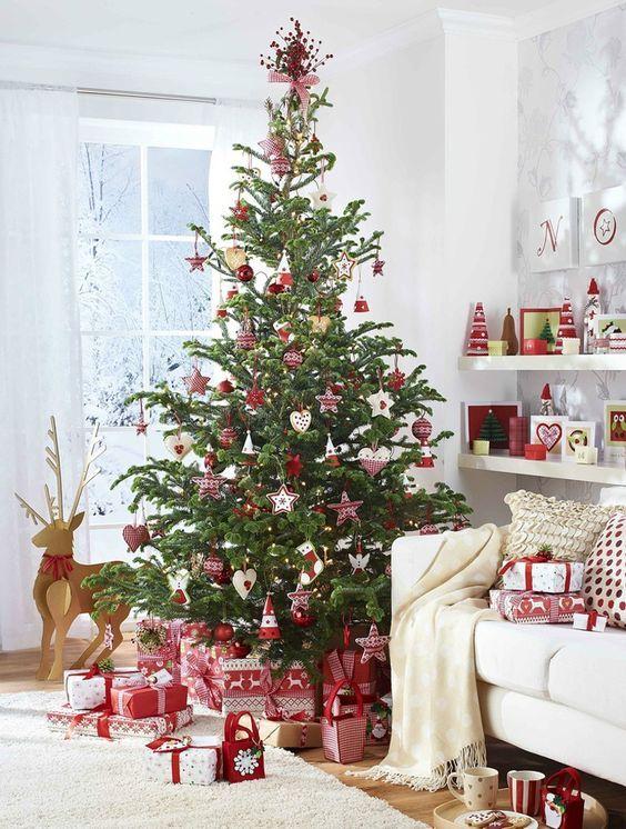 Decoración navideña para casas de campo