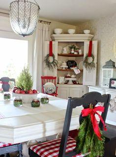 decoracion navideña para casa de campo