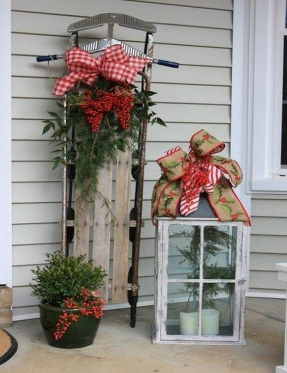 entradas navideñas para casa de campo