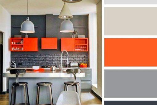 gama de colores para cocinas