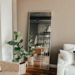 Imágenes de decoración de salas con espejos