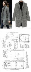 Imágenes de moldes para ropa de moda