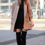 Imágenes de outfits con botas largas